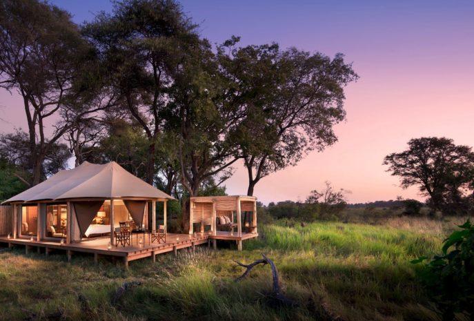 viaje de lujo a botswana